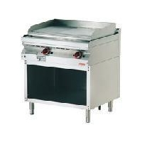 Fry Top Combi with open cabinet (smooth & grooved)
