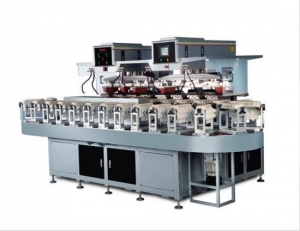 China automatic 8 color baby feeder tampo printing machine/pad printing machine on sale