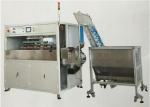 high speed 4 color automatic bottle caps printing machine