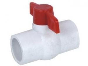China Glass Fiber Pipe PLASTIC BALL VALVE on sale