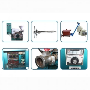 China Screw Oil Presser With Filter on sale