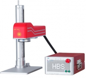 China Diode End-Pump Laser Marking Machine For Spare Parts Of Automobiles And Motorcycles on sale
