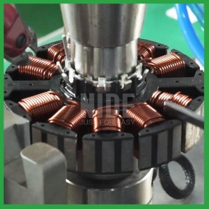 China Brushless motor external rotor needle winding machine on sale
