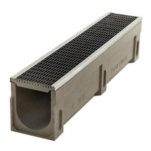 China Drainage Channel With Stainless Steel Grates on sale
