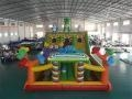 China Dinosaur Slide Bounce House Combo on sale