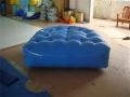 China Strong Style 0.6mm PVC Tarpaulin Air Tight Inflatable Mattress for Sale on sale