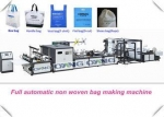 Stable Fully Automatic PP Bags Manufacturing Machinery 40 - 100pcs / Min