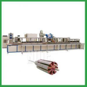 China automatic armature Electrostatic powder coating equipment rotor powder coating oven on sale