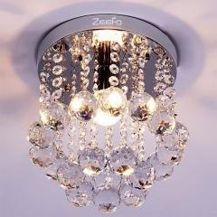 China Ceiling Lamp ZEEFO Crystal Chandeliers, Modern Decor Mini Style 1 Light on sale