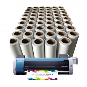 China Super elastic Easyweed dark printable heat transfer vinyl roll on sale