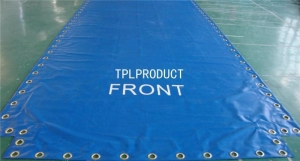 China Durable Waterproof PVC Coated Tarpaulin Boat Cover on sale