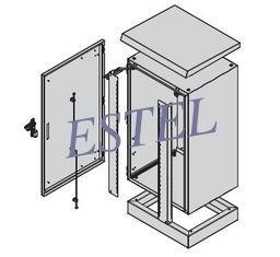 China One Compartment Outdoor Telecom Cabinet ET605060-EQ on sale