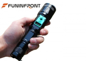 China Direct Charge Zoom LED Flashlight with Power Bank Function, Outdoor T6 LED Torch on sale