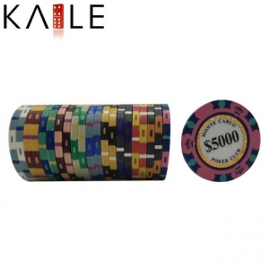 China toy series Cheap Real Clay Number Stickers for Poker Chips on sale