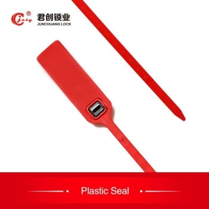 China Pull Tight Disposable Plastic Security Seals Locks on sale