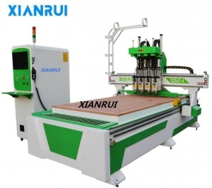 China China cheap 3 axis wood cnc engraving router machine 1325 with four spindles on sale