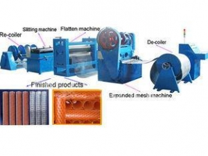 China Expanded Metal Mesh Production line on sale