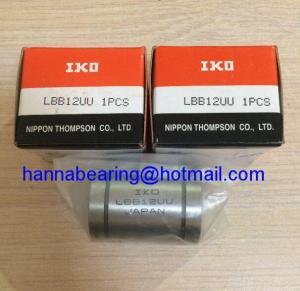 China Japan Origin LBB12UU / LBB12UU-AJ / LBB12UU-OP Linear Bushing Bearing on sale
