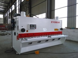 China QC11Y hydraulic guillotine shear on sale