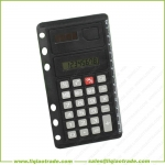 ultrathin black business portable calculator special for 6 ring loose-leaf notebook