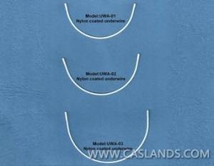 China Nylon Coated Bra Underwire UWA01-UWA03 on sale