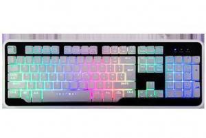 China Keyboard BST-820 Fake Mechanical Backlit Keyboard on sale