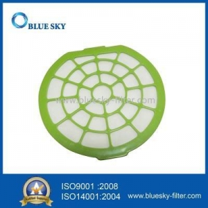 China Green Circular Filters for Dirt Devil Type F50 Vacuums Replace Part 440001036 on sale