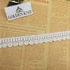 China Golden Knit 2.3cm Hot Sale Narrow Border Lace for Decoration HXP007# for sale