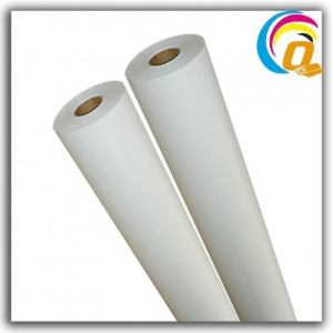China 75gsm 24 Fast Dry And Non Curl Sublimation Heat Transfer Paper Roll For Textile Fabrics(FU-Q 75) on sale