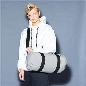 China Bags & Luggage BG136: Reflective barrel bag on sale