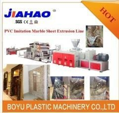 China PVC marble floor production line on sale