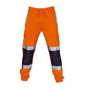 China Men's Work Pants Reflective Safety Construction Pants on sale
