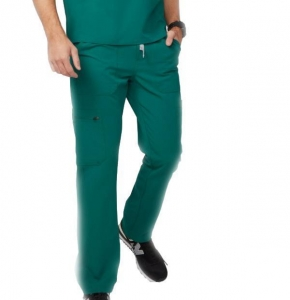 China Green Hospital Men Scrub Pants on sale