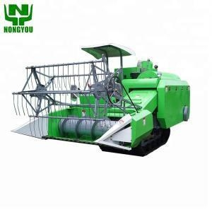 China Wheat cutter mini rice combine harvester for sale on sale