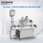 Glass Bottle Filling and Capping Machine