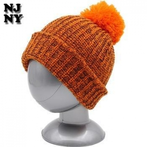 China with custom label winter warm acrylic beanie cap hat on sale