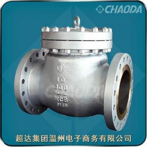 China Pound Grade Cast Steel Swing Check Valve on sale