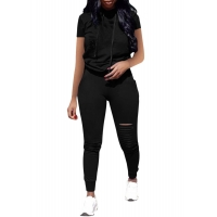 China Jumpsuit Tracksuit Women Casual 2 Piece on sale