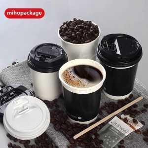 China Disposable Double Wall Paper Cup on sale
