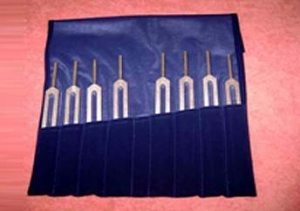 China Professional 8 pc Harmonic Tuning Forks on sale