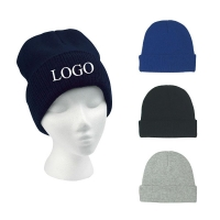 China Knit Beanie Hat with Cuff-ADTN2079 on sale