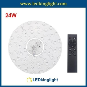China 24W Dimmable LED Ceiling Light Module with Remote control on sale