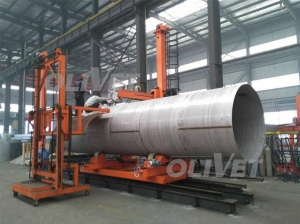 China Stainless steel tank fit-up plasma welding center on sale
