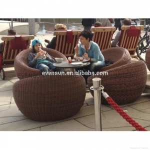 China white rattan outdoor furniture on sale