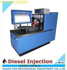 China 12PSB-D Fuel Pump Test Bench with lubrication engine oil system for CAT on sale