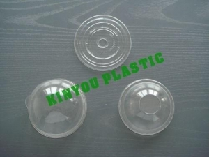 China Disposable Plastic Cup Cover on sale