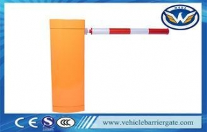 China Secuity Gate Barrier Parking Barrier Boom Gate With DC Brushless Servo Motor on sale