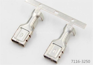 China Yazaki 7116-3250 connectors female terminal 9.5mm(375) on sale