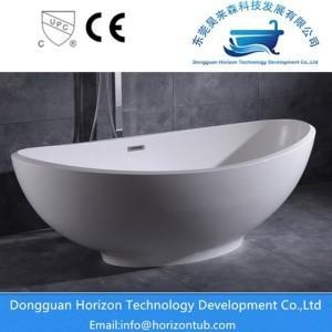 China Poly marble solid surface bathtub on sale