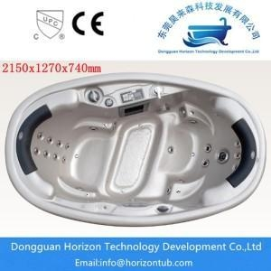 China 2 seats hot tub for couple spa on sale